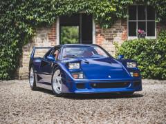 Chiếc siêu xe Ferrari F40 nổi tiếng nhất tại xứ sở sương mù được bán với giá kỷ lục