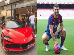 Mới đầu quân cho Barcelona, Sergio Aguero chi hơn 12 tỷ đồng để mua siêu xe Ferrari SF90 Stradale dạo phố
