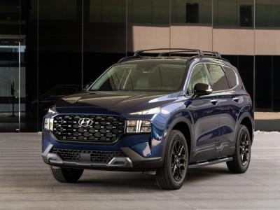 Hyundai Santa Fe 2022 có thêm bản trang bị XRT mới với thiết kế thể thao hơn