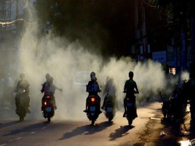 Hà Nội thí điểm kiểm soát khí thải xe máy từ tháng 9 tới đây