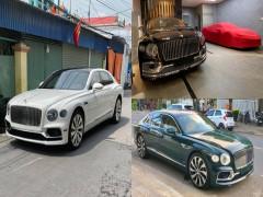 3 đại gia lan đột biến cùng chung đam mê Bentley Flying Spur First Edition, có xe màu lạ