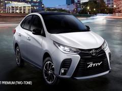 Toyota Yaris Ativ 2021 - sedan cỡ B rẻ hơn Vios - ra mắt với thiết kế nâng cấp nhẹ