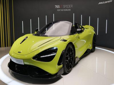 McLaren 765LT Spider chào khách ở Hồng Kông, toàn bộ 11 chiếc đã được bán sạch