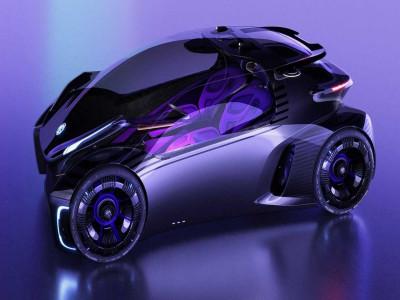 MG Maze - Concept xe điện lấy cảm hứng từ trò chơi điện tử, đem lại cảm giác lái giống như chơi game