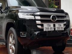 Thêm Toyota Land Cruiser 2022 được chủ bấm ra siêu biển tứ quý, lần này là ở tỉnh Phú Thọ