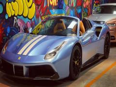 Mất tích khá lâu, siêu xe Ferrari 488 Spider độ Novitec tái xuất với bộ áo mới đẹp mắt