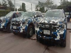 Ford Ranger hoàn toàn mới lộ diện rõ ràng nhất từ trước đến nay
