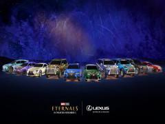Lexus trình bày 10 chiếc xe mang vỏ bọc đặc biệt dựa theo nhân vật siêu anh hùng