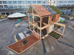 Ngôi nhà được làm từ 100 loại vật liệu có nguồn gốc từ thực vật ở Hà Lan
