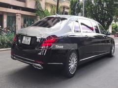 Video: Mercedes-Maybach S650 Pullman của doanh nhân Sài thành dạo phố, chất từ xe đến biển số