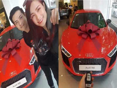 Đông Nhi - Ông Cao Thắng từng đi tiên phong trong việc ca sĩ tậu siêu xe, chơi hẳn Audi R8 V10 Plus chính hãng duy nhất Việt Nam