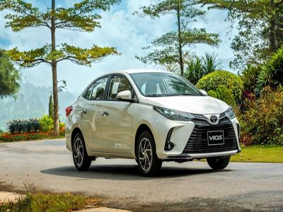 Doanh số phân khúc xe hạng B tháng 9/2021: riêng mình Toyota Vios giảm mạnh