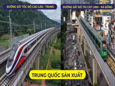 Cùng là do Trung Quốc sản xuất, đường sắt Cát Linh - Hà Đông khác đường sắt của Lào như thế nào?