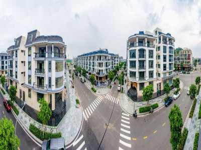 Pearl Garden - phố sang, phố xanh tại Van Phuc City