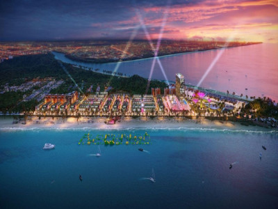 Khởi công 2 siêu dự án giải trí, Hải Tiến lột xác, vượt Sầm Sơn thành thiên đường du lịch biển lớn nhất Thanh Hóa